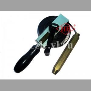 Рулетка для замера уровня топлива (латунный лот)